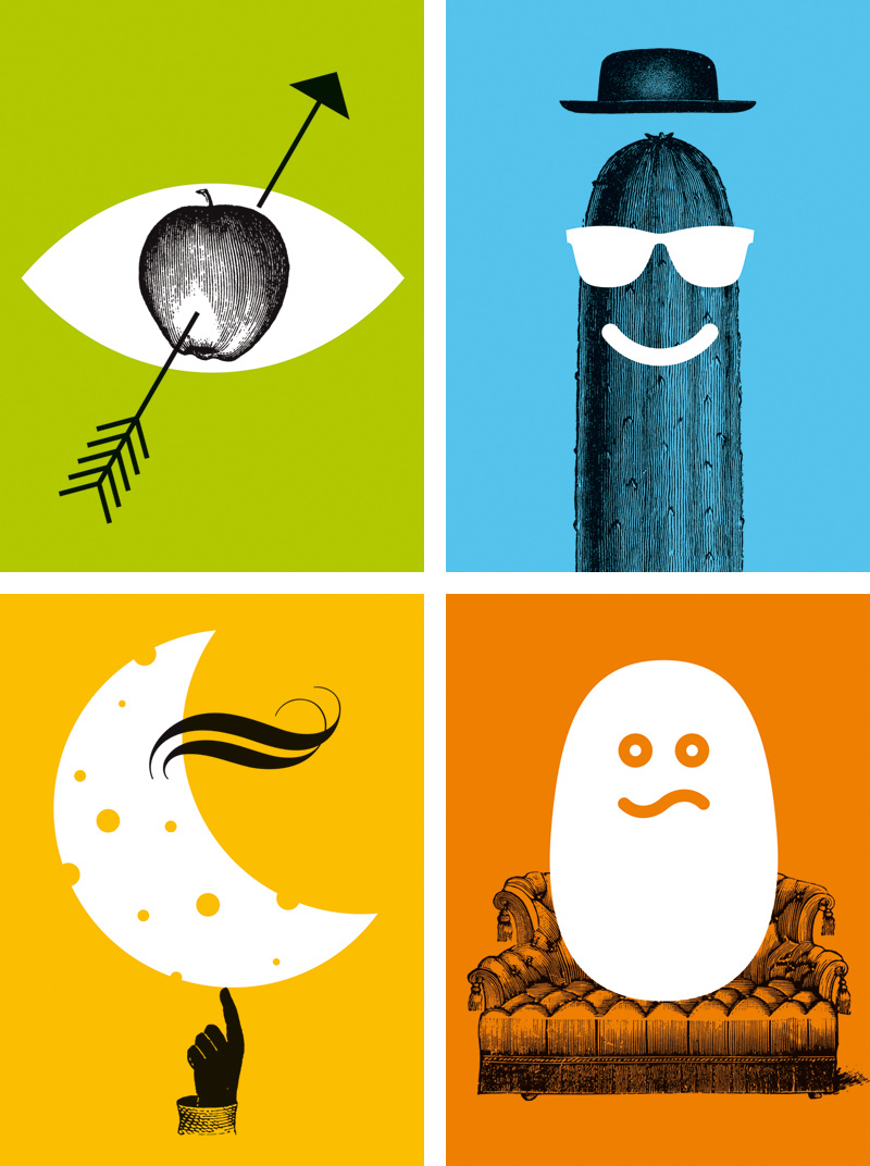 Food Sayings Mikel Jaso Graphic Artist