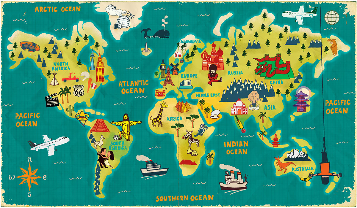 World map paul thurlby gumiabroncs Image collections