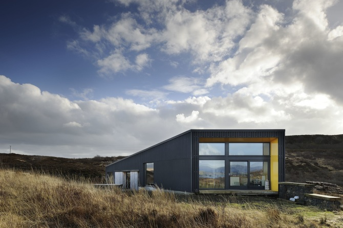 Black House Rural Design Architects Isle Of Skye And